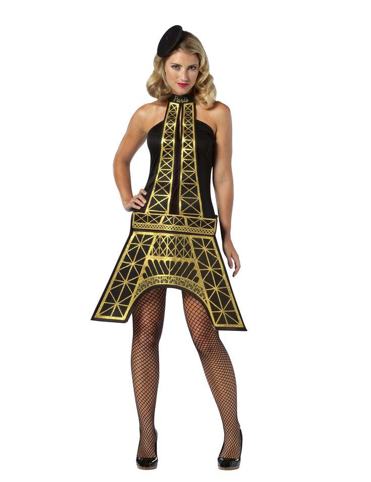 Disfraz Torre de París mujer