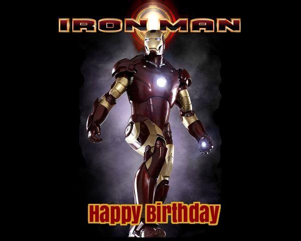 11 best Iron Man Birthday Cards images on Pinterest Man birthday