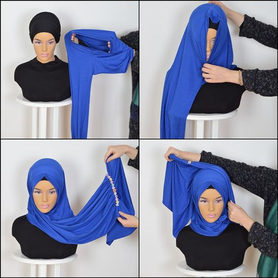 Cotton Express Hijab Code: PS-0013 Muslim Women by HAZIRTURBAN
