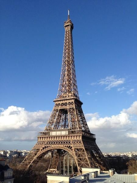 View from the Pullman Paris Tour Eiffel / via Hotel Chatter