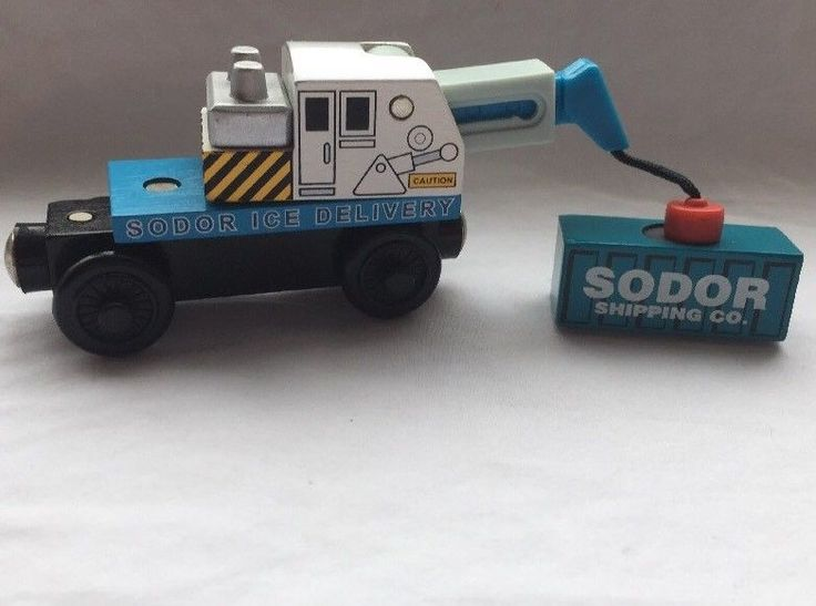 Thomas and Friends Sodor Ice Crane Car Tank Railway Train #Guillane
