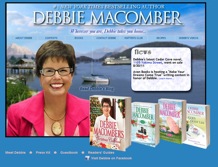 Debbie Macomber books are great books.