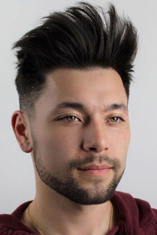Faux Hawk Haircuts For Real Men Menshaircuts Com Hairstyles For Thin Hair Thin Hair Men Long Thin Hair Men