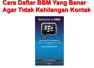 Tutorial Android Indonesia: Cara Mendaftar BBM Yang Benar Agar Tidak Kehilanga...