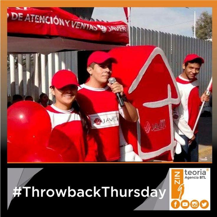 #TBT #ThrowbackThursday Activación para Casas Javer 🏡 #AdvertisingAgency  #Marketing