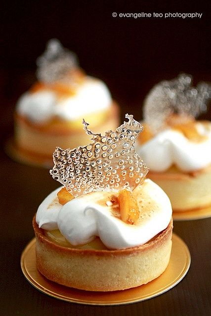 Meyer Lemon Tart - Pierre Hermé #recipe