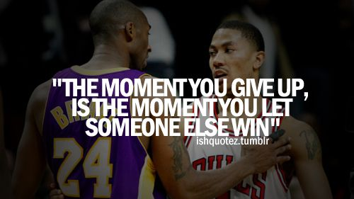 kobe bryant quote | kobe bryant quotes – basketball never stops on tumblr [500x281 ...