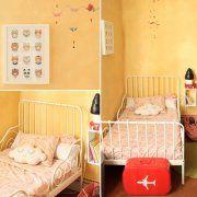 murs jaune clair