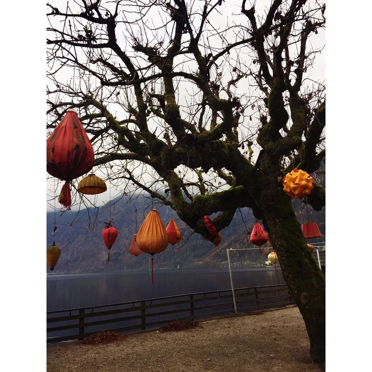 Lampions in Hallstatt