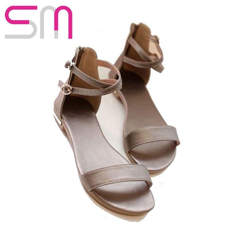 Купить товарРетро лодыжки ремни сандалии пряжки квартиры каблуки молнии кожа летом открытым носком назад сандалии 2015 в категории Сандалиина AliExpress.          2016 High Wedge Sandals Lace Up Sandals Vintage Cut-out Mesh Platform Sandals Elegant Thick Sole Pointed Toe Sh