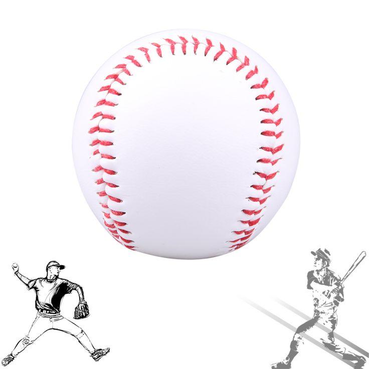 """9 """"Hecho A Mano Pelotas de PVC y PU Superior Hard & Soft Pelotas de Béisbol Softbol Bola Pelotas de Ejercicio de Entrenamiento de Béisbol"""