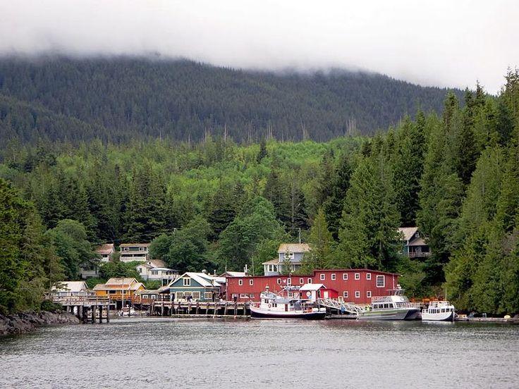 Telegraph Cove, British Columbia, Canada.