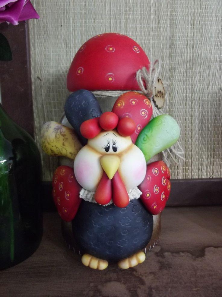 pote galinha angola 3,0 litros  podendo ser feito em todas as cores de sua preferencia!!!
