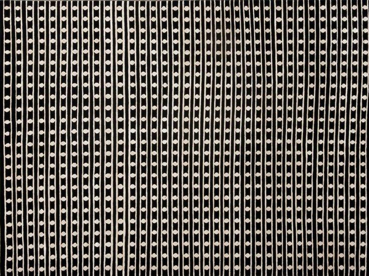 Rectangular rug with optical pattern MAO by NOW CARPETS   design Francesc Rifé