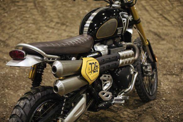 Triumph Scrambler 1200 Race Bike