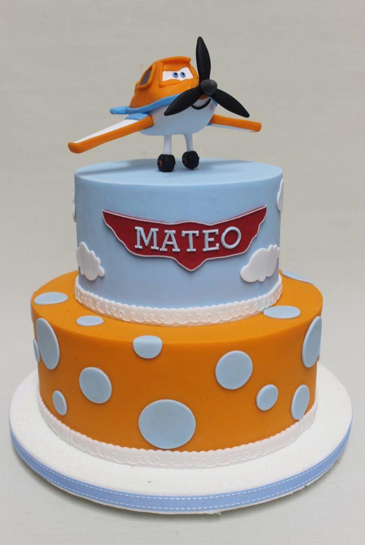 Disney Plane Cake  Violeta Glace