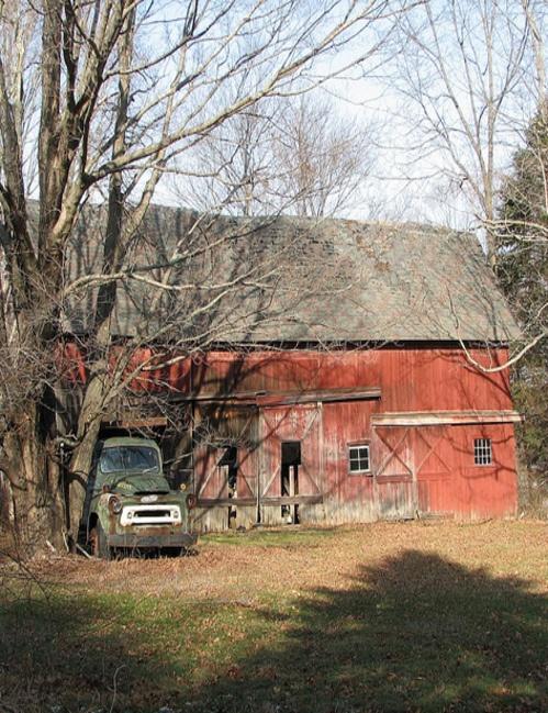 Barn & Old Truck