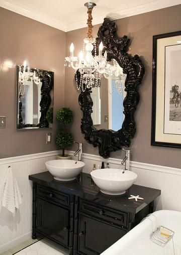 modern old world style | Parisian Chic Bathroom Design - Building An Exotic Getaway In Your Own ...