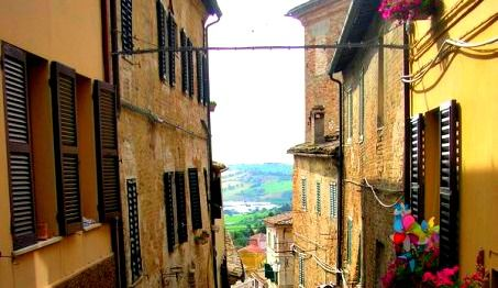 The enchanting village of Corinaldo