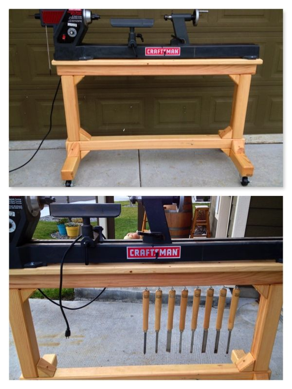 Homemade Lathe Stand Plans Woodworking Projects Amp Plans