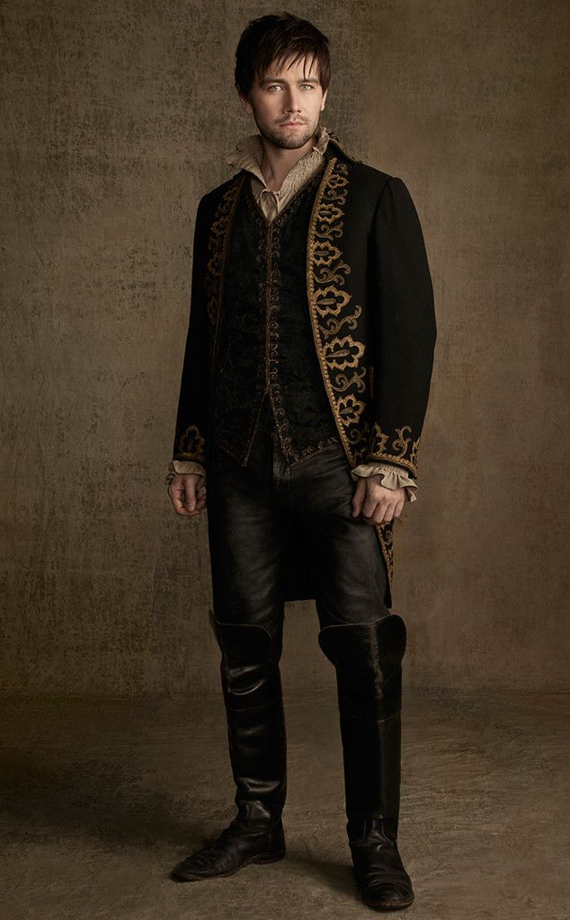 Bash (Torrance Coombs) in a new look for Season 2 of #Reign on the CW