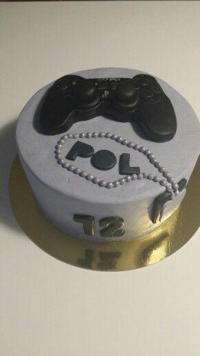 Tarta Play Station/Play Station cake