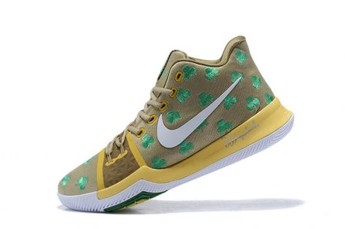 9d9dd96b735 Latest Boston Celtics Nike Kyrie 3 Luck PE Mens Basketball Shoes For Sale -  ishoesdesign