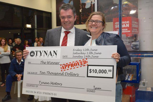 Tynan $10,000 Giveaway Winner Announced - http://tynanmotors.com.au/tynan-news-blog/tynan-10000-giveaway-winner-announced/