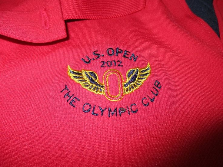 Under Armour US Open 2012 Olympic Club Golf Shirt Red Loose S/S Womens Size XL #UnderArmour #Golf #womenswear #sanfrancisco #olympicclub #usopen