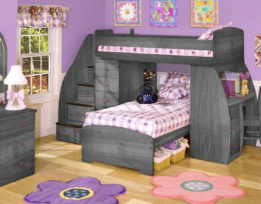 the ultimate in two child space saving furniture the 4 drawer desk is