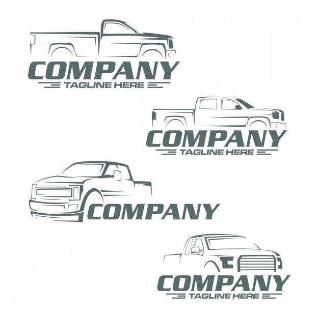 Pickup Truck Logo Auto Shop Logo Auto Shop Logo Design Social Media Design Graphics