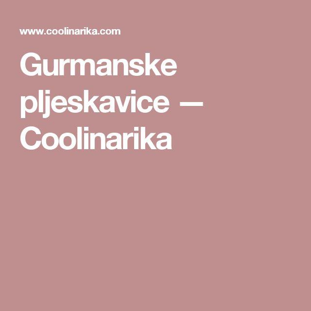 Gurmanske pljeskavice — Coolinarika
