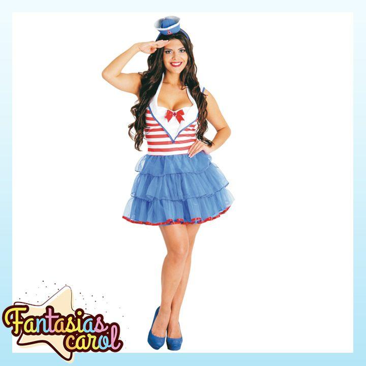 Aproveite que o carnaval esta chegando e vá fantasiada com a Fantasia Marinheira Pin Up Adulto Heat Girl Com Mini Chapéu Sulamericana por apenas...  Confira -> http://www.fantasiascarol.com.br/prod,idloja,25984,idproduto,4765237,festa-a-fantasia-adulto-fantasia-feminina-adulto-fantasia-marinheira-pin-up-adulto-heat-girl-com-mini-chapeu-sulamericana