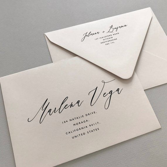 This Envelope Addressing Template Is Ready To Be Edited Printed And Enjoyed Per Envelope Addressing Template Wedding Invitation Envelopes Addressing Envelopes