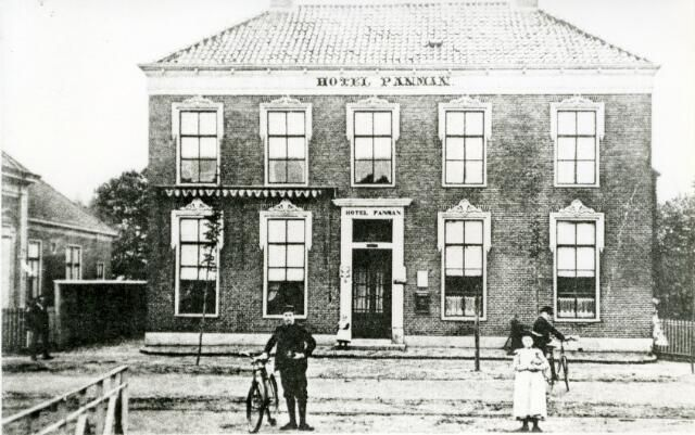 Hotel Panman Semsstraat 1906