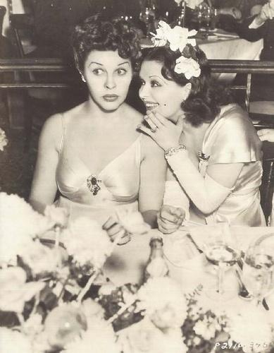 Clara Bow & Martha Raye