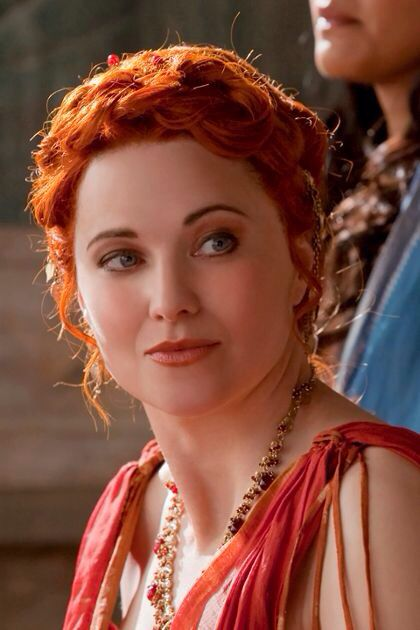 Spartacus Lucy Lawless as LucretiaLucy Lawless Lucretia Spartacus
