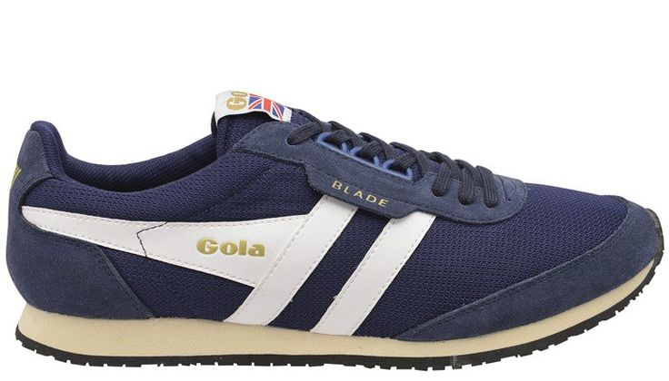 Zapatillas Gola Blade Navy/White EW. Shoes