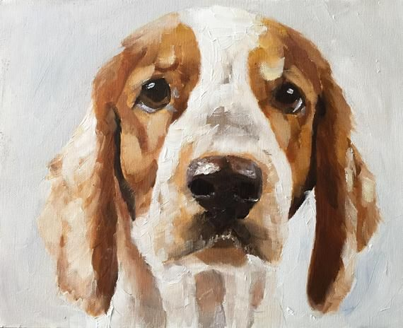Dog Painting Beagle Dog Art Print Dog Art Print From Original