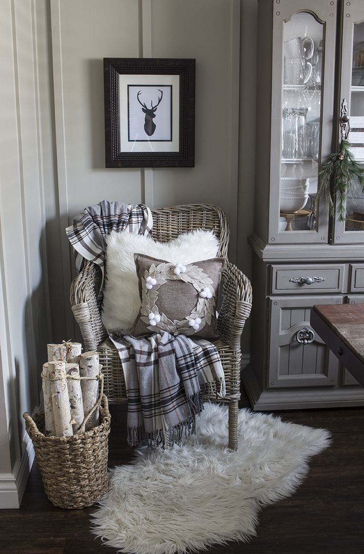 May have to try out some interesting places to put my sheepskin rug!  AKA Design Felt Wreath Pillow 4 BLOG PIC