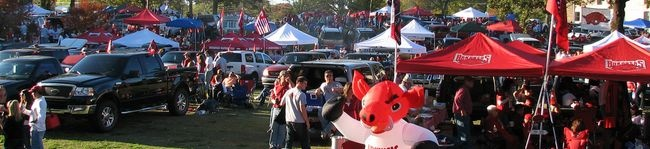 Tailgating - War Memorial Stadium – Little Rock, Arkansas – Sporting Events, Concerts, Conferences, Meetings and Birthday Parties