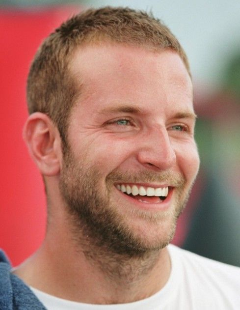 mens hairstyles for balding/thinning hair | Picture of Bradley Cooper Buzz Cut @ hairstylesweekly.com