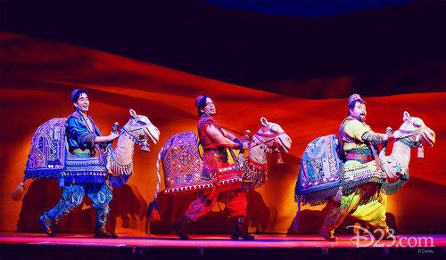 mickeyandcompany: Aladdin on Broadway takes over...