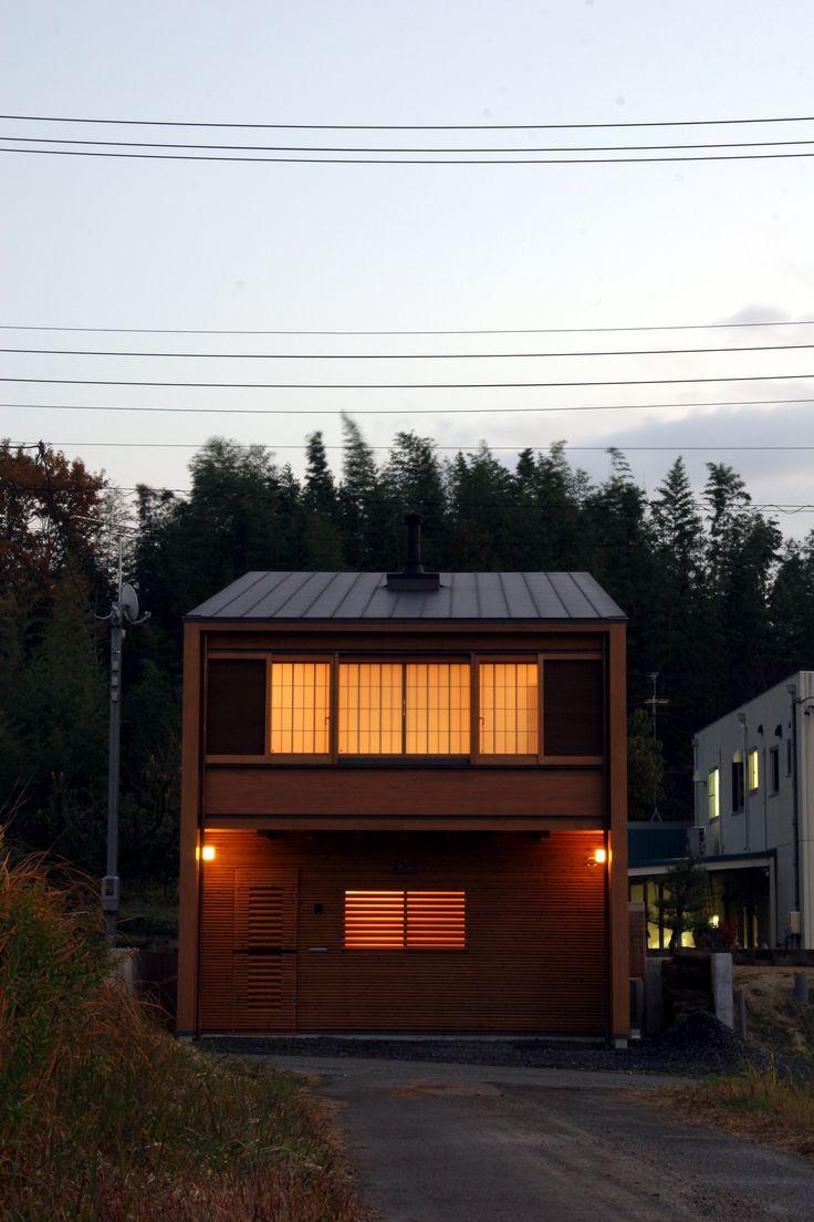愛知:磯村建築設計事務所 下鏡田の家 外観
