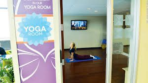 Chicago Midway Yoga Room