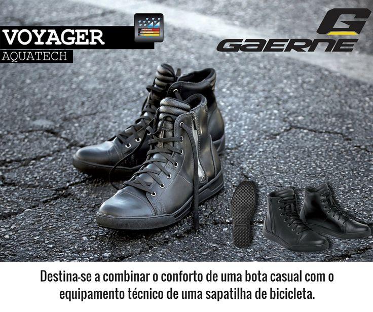GAERNE | BOTAS VOYAGER AQUATECH || Como a Gaerne tem calçado para todo o tipo de desporto, apresentamos as Botas Voyager Aquatech. Com um estilo único e segurança, as Voyager Aquatech destinam-se a combinar o conforto de uma bota casual com o equipamento técnico de uma sapatilha de bicicleta.  #gaerne #lusomotos #sapatilhas #botas #estilodevida #bicicleta