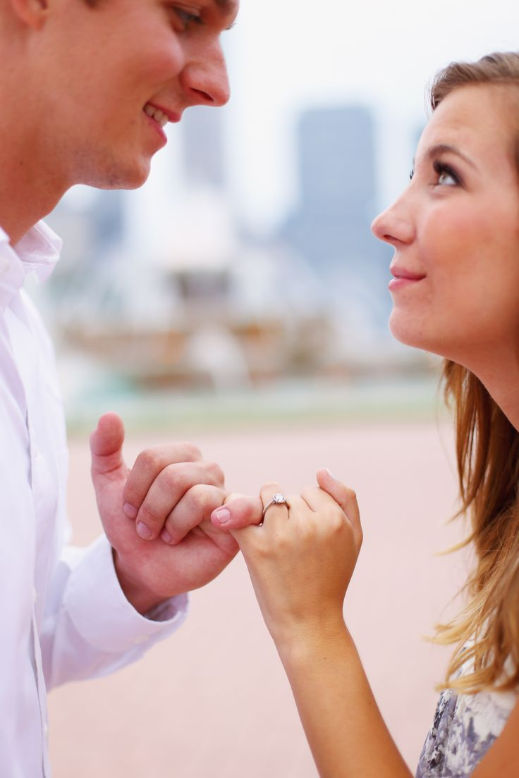 Downtown Chicago Engagement Session by Mary Rose Photography