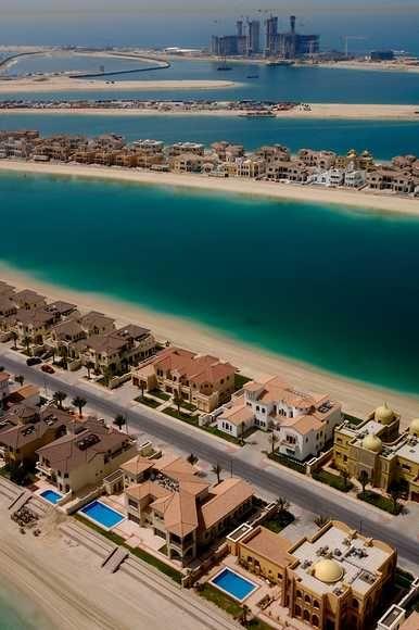 Majestic properties in a prime location Palm Jebel Ali Dubai  #realestate #property #properties #Investment #palmjebelali #dubai