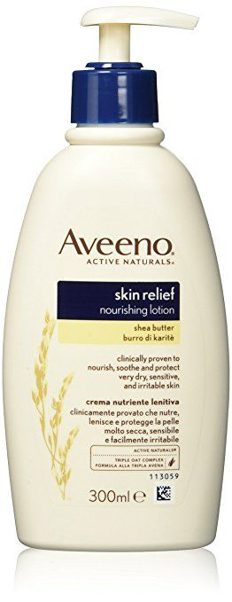 Aveeno Skin Relief Moisturising Body Lotion with Shea Butter (300ml) Review