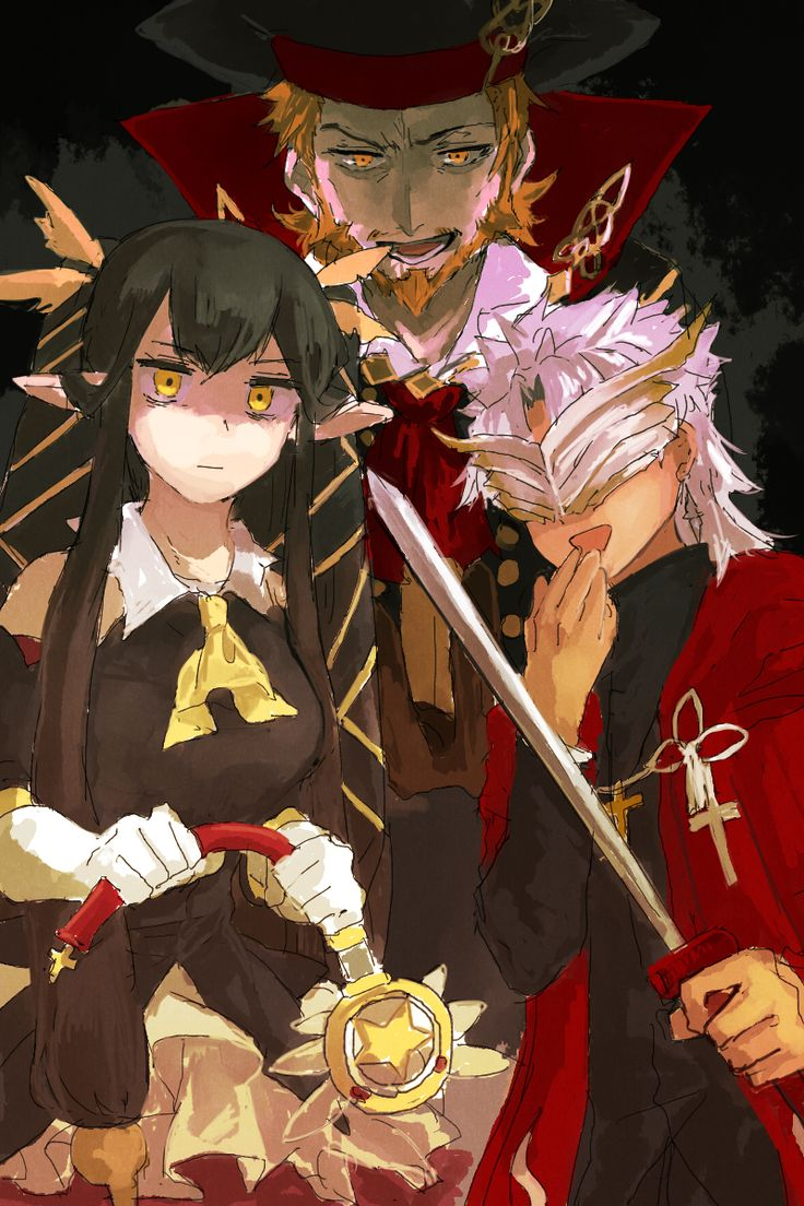 Shirou Amakusa Shakespeare Semiramis Fate